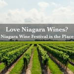 The Niagara Wine Festival at Montebello Park.