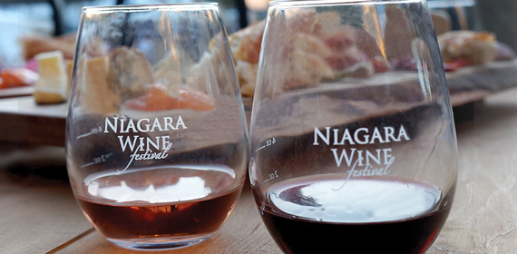 Eat, drink and be merry at the Niagara Wine Festival.